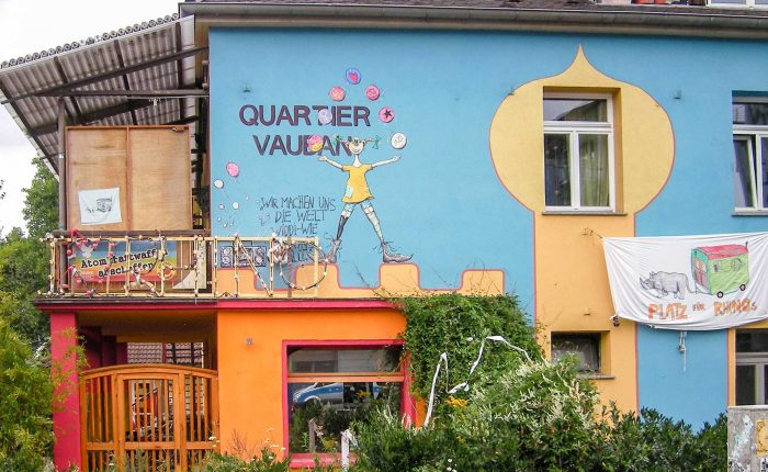 Freiburg für Schüler: Green City Vauban | Fribourg-en-Brisgau