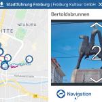 Digitaler Stadtrundgang Freiburg
