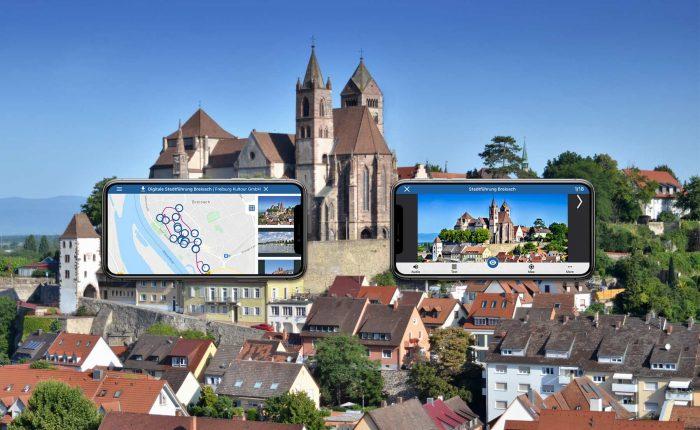 Digitaler Stadtrundgang Breisach Digital Tour